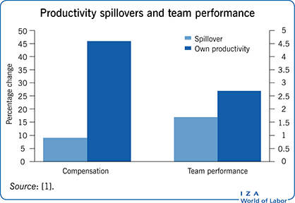 Productivity spillovers and team                             performance