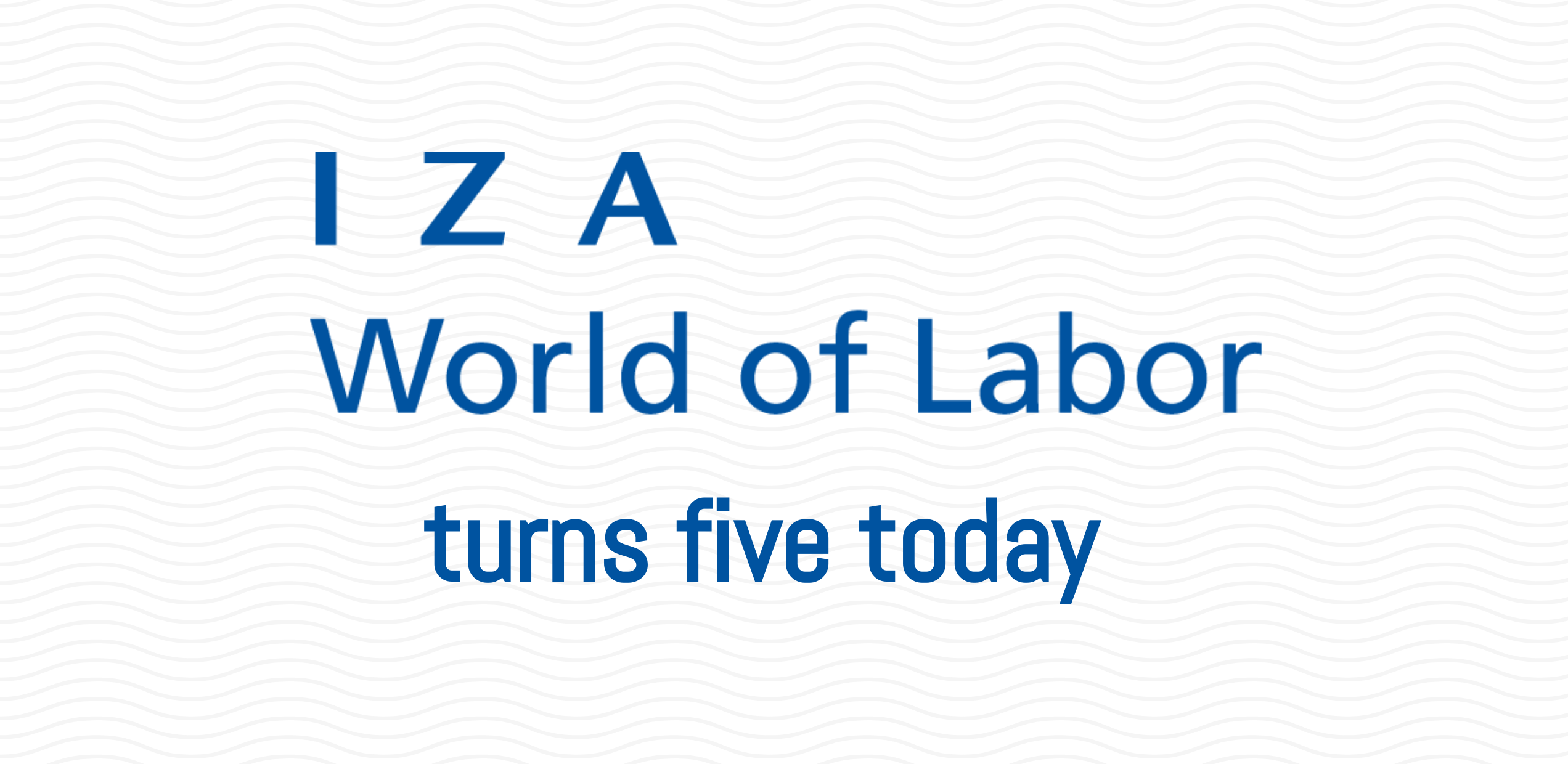 IZA World of Labor turns five